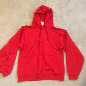 Gymnastics red hoodie